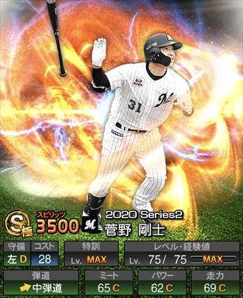 菅野 剛士 2020シリーズ2/S極