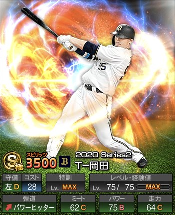 T-岡田 2020シリーズ2/S極