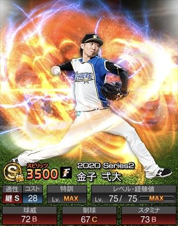金子 弌大 2020シリーズ2/S極
