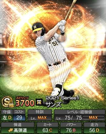 サンズ 2021シリーズ1/S極