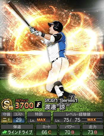 渡邉 諒 2021シリーズ1/S極