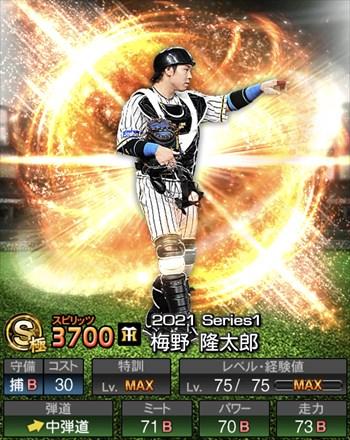 梅野 隆太郎 2021シリーズ1/S極