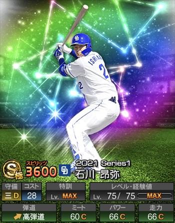 石川 昂弥 期待の若手/2021シリーズ1
