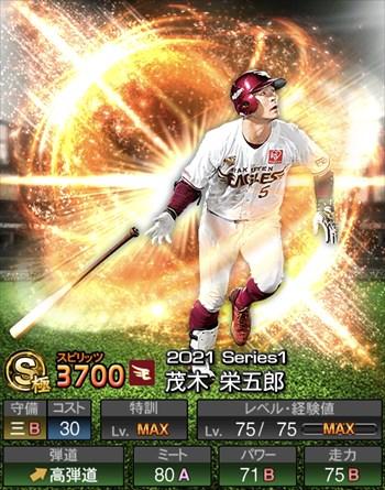 茂木 栄五郎 2021シリーズ1
