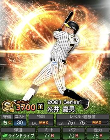 糸井 嘉男 2021シリーズ1