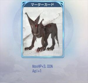マーターのカード