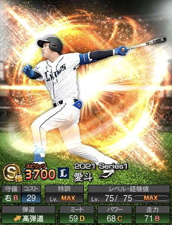 愛斗 2021シリーズ1/S極