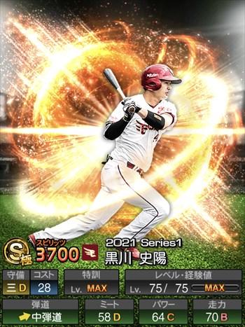 黒川 史陽 2021シリーズ1/S極