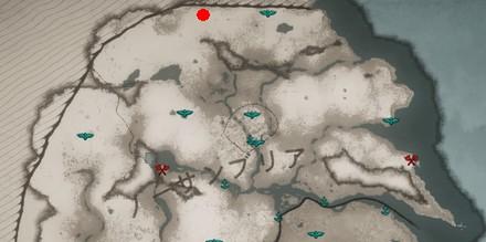 「ラゲルサの斧」の場所